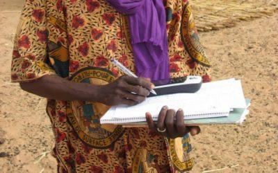 Lokalisering av en landsby takket være en donert Garmin GPS-mottaker