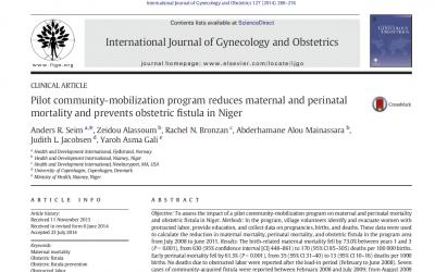 Publikasjon om forebygging av fødselsfistel i Niger